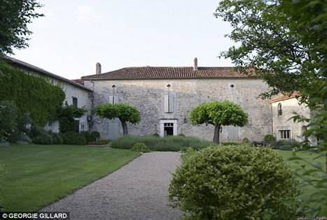 Mr Daniels, 72, died of his injuries in his car as his wife Gay, 77, drove him to the nearest doctor after he was shot at his home near the small village of Édon in south west France. Pictured: Mr Daniels' home